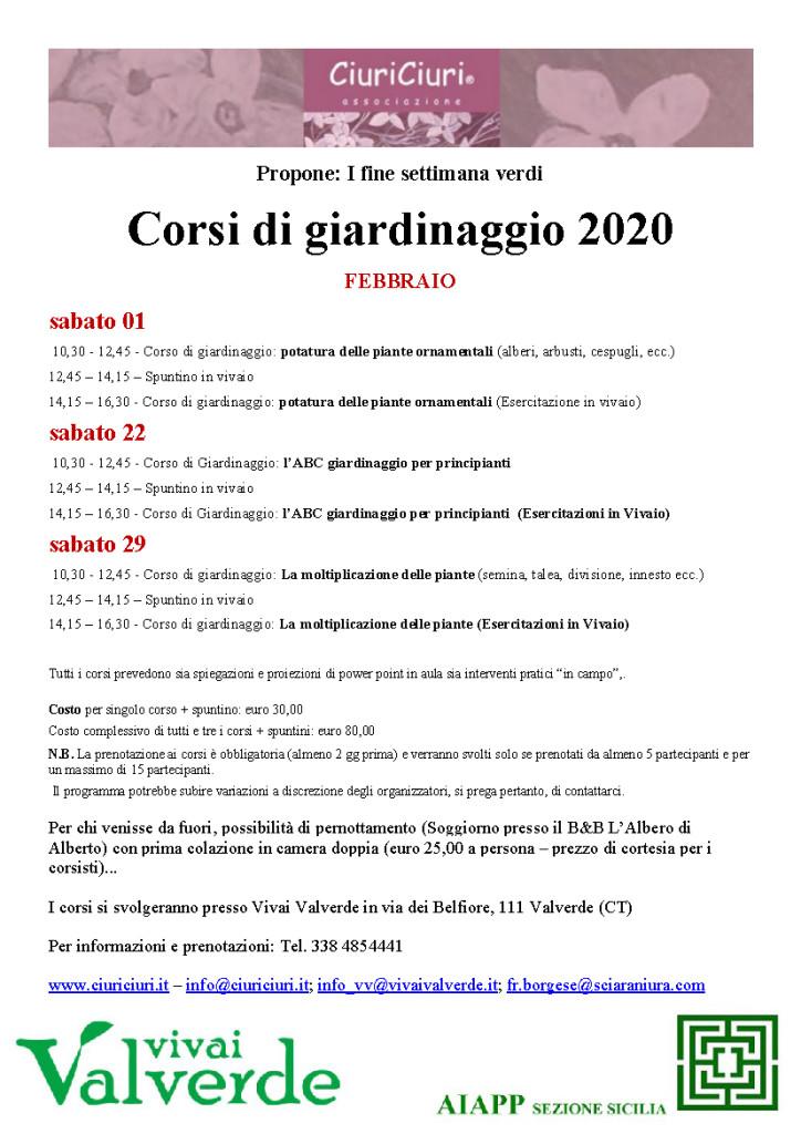200120_Corsi di Giardinaggio Febbraio 2